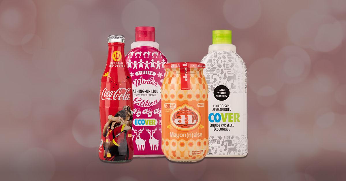 Gepersonaliseerde verpakking voor bekende merken