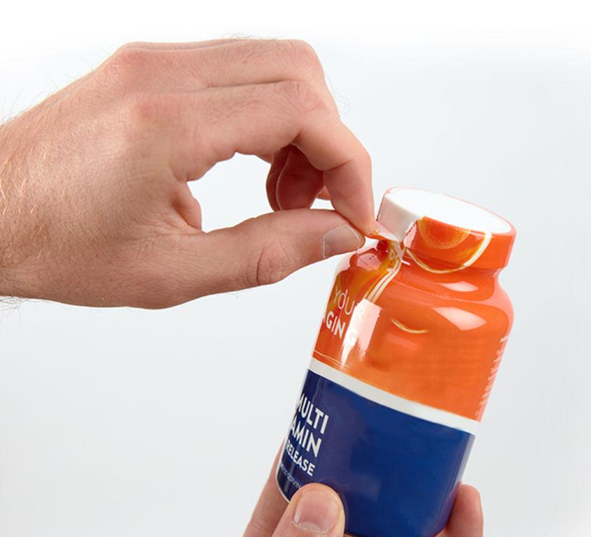 Makkelijk verwijderbare verpakking - milieuvriendelijke verpakking