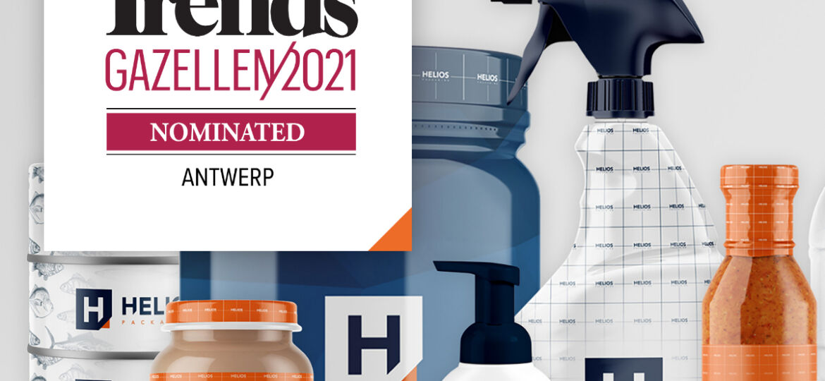 Helios Packaging nominated for Trends Gazelles 2021