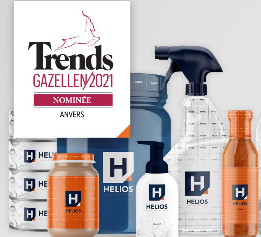 Helios packaging nominee pour Trends Gazellen 2021